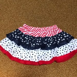 Other - 🇺🇸 Patriotic Red White and Blue skort